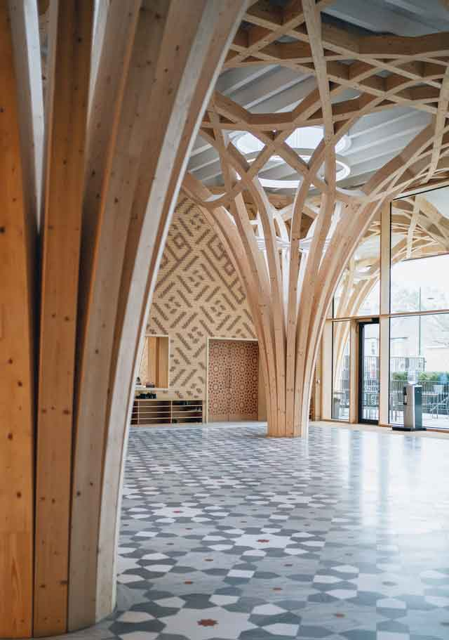 Cambridge Central Mosqueunique eco friendly mosque of the world with go green architecture design vdiscovery arvinovoyage
