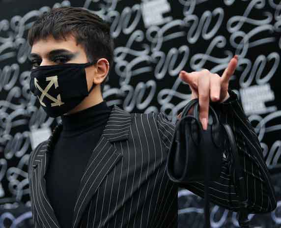 London Fashion Week maskstrending now unique events occurring due to coronavirus outbreak vdiscovery arvinovoyage