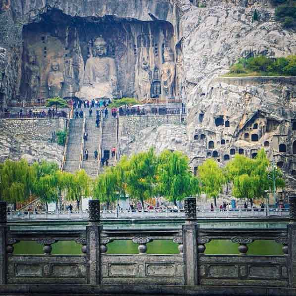 Longmen Grottoes most sacred religious famous caves around the world you must visit vdiscovery arvinovoyage