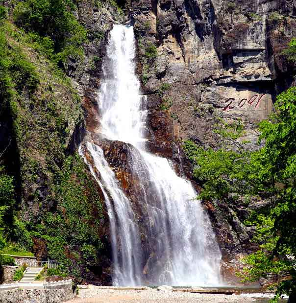 Ullim Waterfall north korea tourism guided tour beautiful places to visit inside pyongyang vdiscovery arvinovoyage