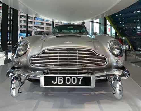 Aston Martin DB5 James Bond 32 weirdest museums in the world that are actually disturbing vdiscovery arvinovoyage