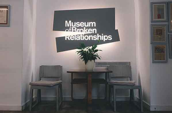 Museum of Broken Relationships 32 weirdest museums in the world that are actually disturbing vdiscovery arvinovoyage