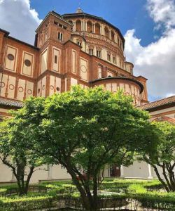 Santa Maria Delle Grazie travelling in italy best places to visit you cant miss vdiscovery arvinovoyage