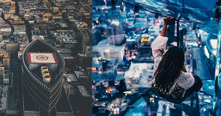 OUE Skyspace LA how to spend 24 hours in la  interesting locations in los angeles vdiscovery arvinovoyage