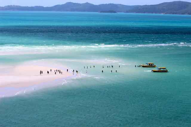 Whitehaven Beach here's a great way to mend your broken heart travel