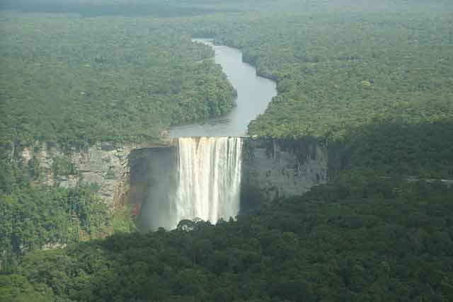 Kaieteur Falls Guyana 10 of the World's Most Beautiful Waterfalls to Visit  vdiscovery arvinovoyage