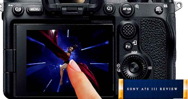 High definition OLED display sony a7s iii review mirrorless digital camera travel photography dream vdiscovery arvinovoyage