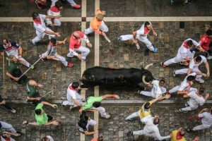 Running of the Bulls tired of ordinary travel this is the most dangerous tourist place in the world vdiscovery arvinovoyage