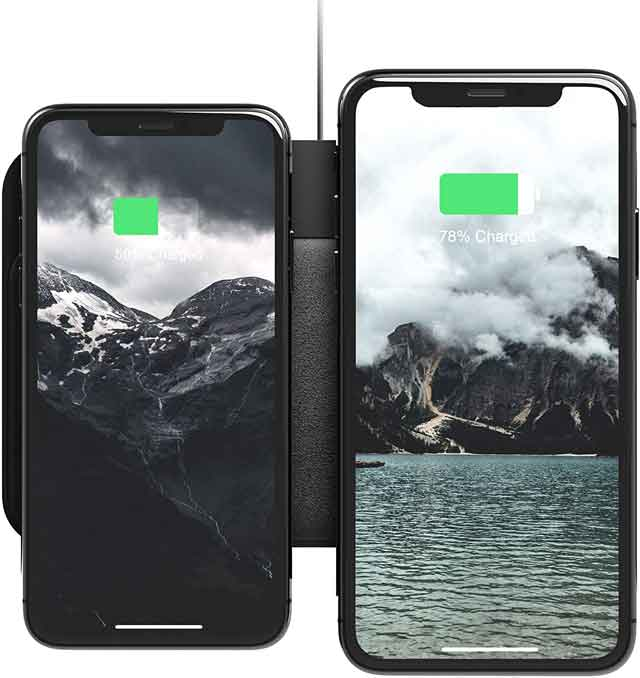 Nomad Base Station Pro 18-Coil Wireless Charger iPhone 12 accessories and charger you can buy now vdiscovery arvinovoyage