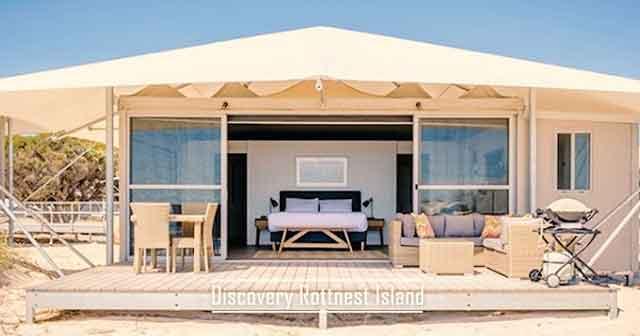 Discovery Rottnest Island best glamping destinations in the australia luxury camping resorts vdiscovery arvinovoyage