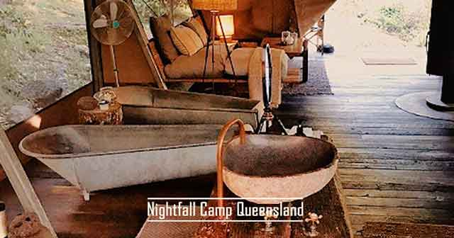 Nightfall Camp Queensland best glamping destinations in the australia luxury camping resorts vdiscovery arvinovoyage
