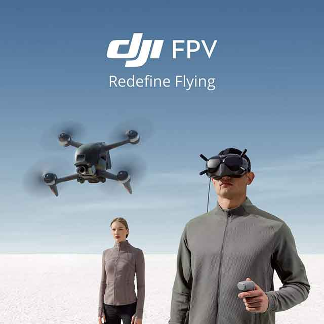 FPV Drone: A DJI Drone That Gives a First Person View Nuance