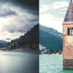 curon lost village emerges seventy years from italian lake vdiscovery arvinovoyage
